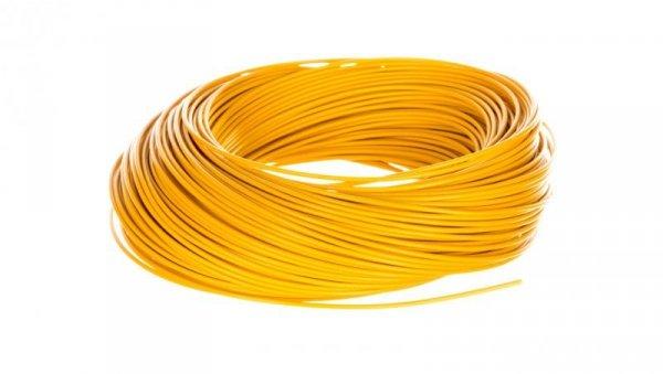 Przewód instalacyjny H05V-K 0,5 żółty 29089 /100m/