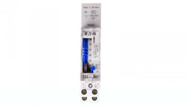 Analogowy zegar sterowniczy 16A dobowy jednokanałowy TSSD1NO 167389