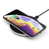Satechi Aluminium USB-C PD & QC Wireless Charger Silver