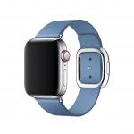 Apple pasek z klamrą nowoczesną w kolorze chabrowym do Apple Watch 38/40 mm - Rozmiar M
