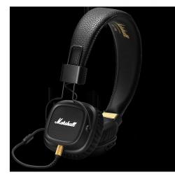 Słuchawki Marshall Major II Czarne przewodowe