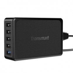 Ładowarka desktop Tronsmart U5PTA QC3.0 (kolor czarny)