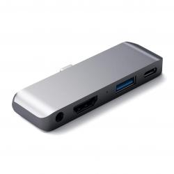 Satechi USB-C Mobile PRO HUB do iPada Pro Space Gray (gwiezdna szarość)