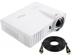 ---- GRATIS HDMI 10m ----  Projektor OPTOMA GT760 DLP HD Ready 3D 720p 20000:1 Short Throw