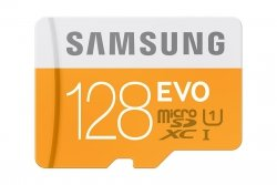 Karta pamięci Samsung Micro SD z adapterem EVO Up to 48MB/S 128GB - MB-MP128DA/EU
