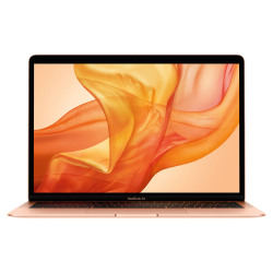 MacBook Air Retina True Tone z Touch ID i5 1.6GHz / 8GB / 128GB SSD / UHD Graphics 617 / macOS / Gold (2019)