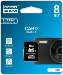 Karta GOODRAM SDHC 8GB CLASS 4