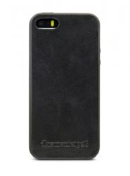 dbramante1928 BILLUND Etui skórzane do iPhone 5 5S SE  Czarny