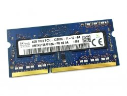 Pamięć RAM 4GB Hynix SO-DIMM DDR3 1600MHz PC3-12800 CL11