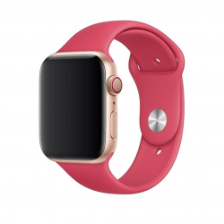 Apple pasek sportowy w kolorze hibiskusa do Apple Watch 42/44 mm - S/M i M/L