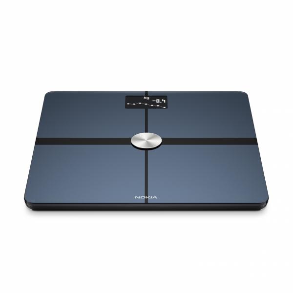 NOKIA Body+ waga Wi-Fi z pełną analizą składu masy ciała Czarna Android iOS