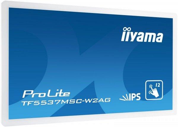 Monitor IIYAMA 55 TF5537MSC-W2AG Biały IPS multi-touch 24/7 IPX1