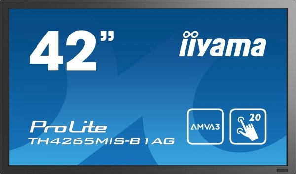 Monitor IIYAMA 42 TH4265MIS-B1AG AMVA FullHD DAISY CHAIN Support, multi-touch