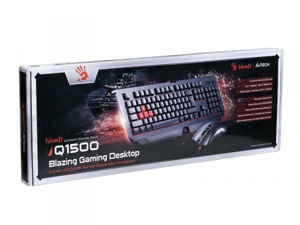 Zestaw A4tech Bloody Q1500 Klawiatura+mysz