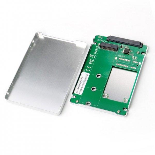 "i-tec MySafe 2,5"" SATA Metalowa obudowa dla dysku SATA M.2"