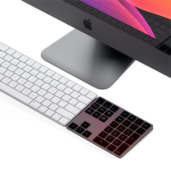 Satechi Keypad Extended Aluminiowa klawiatura numeryczna Bluetooth Space Gray (gwiezdna szarość)