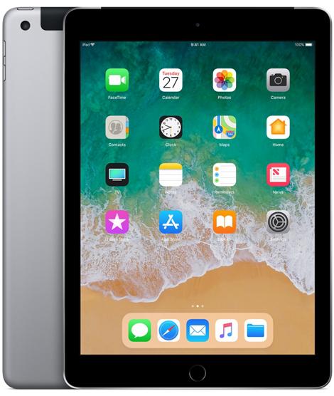 Apple iPad 6-gen 9,7 32GB LTE + Wi-Fi Space Gray