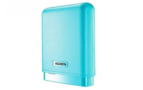 ADATA PV150 PowerBank 10000mAh 2.1A LED - Niebieski