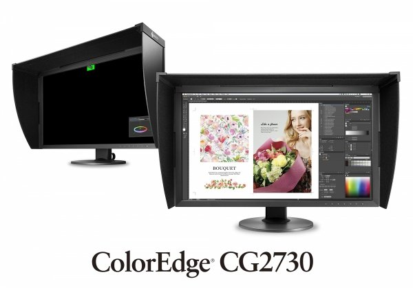 EIZO ColorEdge CG2730 27 IPS, 99% Adober RGB, ColorNavigator