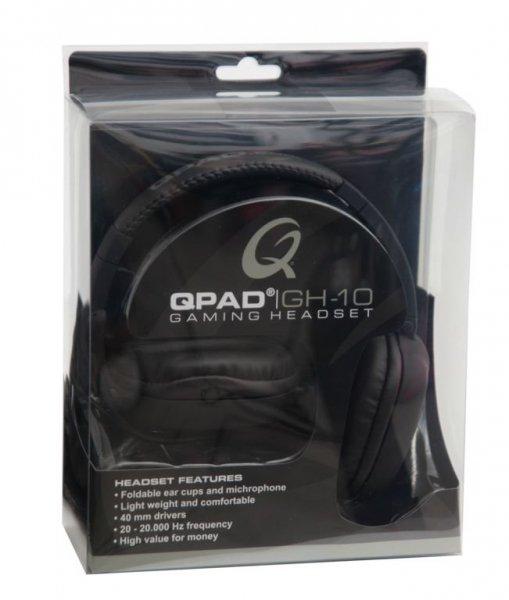 QPAD GH-10 czarne eSPORT Pro Gaming