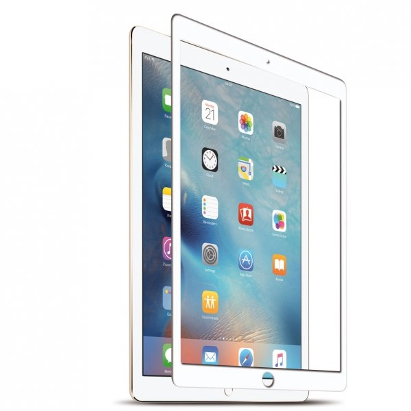 KMP Szkło ochronne na iPad Pro 10,5 / iPad Air 10,5 White (biały)