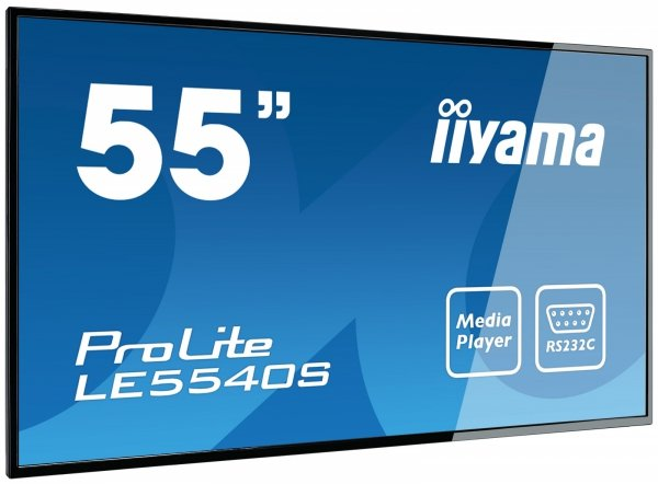 Monitor IIYAMA 55 LE5540S-B1 IPS FullHD USB Media Player