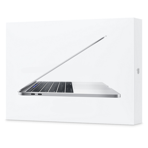 MacBook Pro 13 Retina Touch Bar i7 1,7GHz / 8GB / 2TB SSD / Iris Plus Graphics 645 / macOS / Silver (2019)