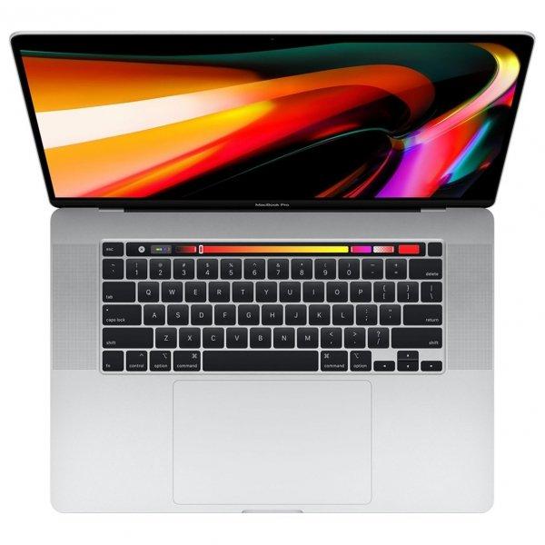 MacBook Pro 16 Retina Touch Bar i9-9980HK / 16GB / 512GB SSD / Radeon Pro 5500M 8GB / macOS / Silver (srebrny)