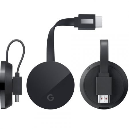 Google Chromecast ULTRA Stream TV 4K HDR