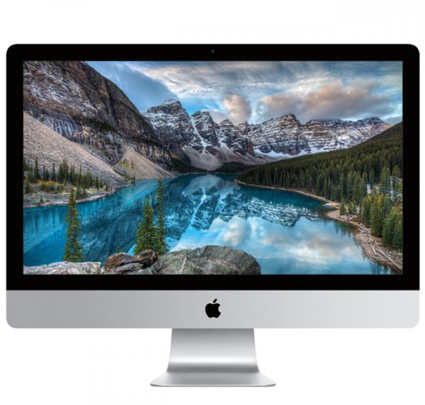 "iMac 27"" Retina 5K i5-7600/8GB/3TB Fusion/Radeon Pro 575 4GB/macOS Sierra"