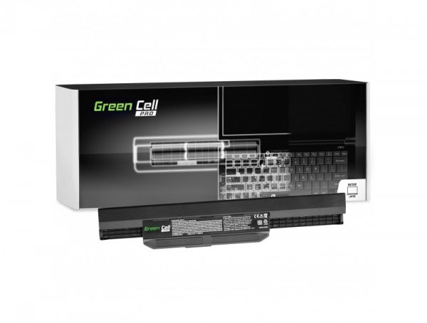 Bateria Green Cell PRO A31-K53 A32-K53 A41-K53 A42-K53 do Asus A537 K53 K53E K53S K53SV X53 X53S X53U X54 X54C X54F X54H