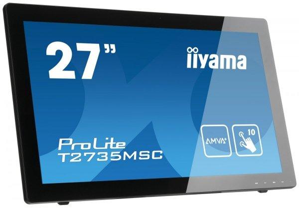 "IIYAMA T2735MSC-B2 27"" Dotykowy Hub USB AMVA+"