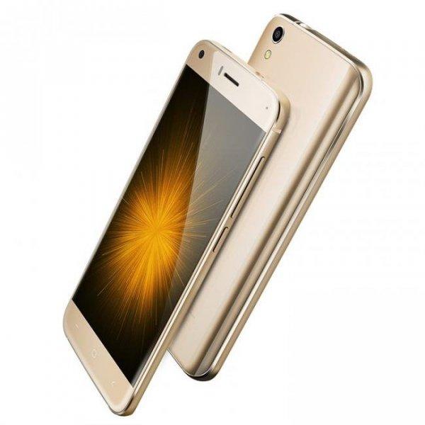 """Smartfon Umi London 8GB 5"""" (złoty) POLSKA DYSTRYBUCJA Zestaw etui+szkło"""
