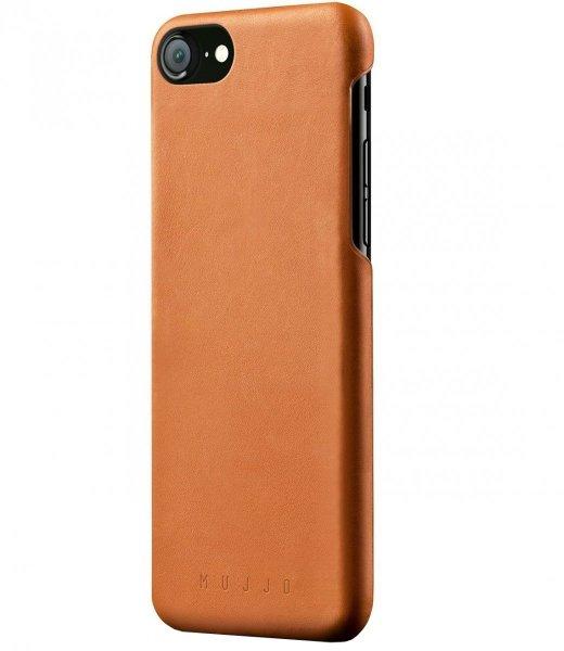 Mujjo Leather - etui skórzane do iPhone 8/7 (brązowe)