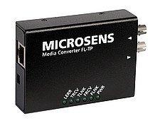MICROSENS Media Converter - Swiatłowodowy konwerter mediów - 10Base-T, 10Base-FL - ST jednomodowy / RJ-45 - do 10 km - 1300 nm - MS410101