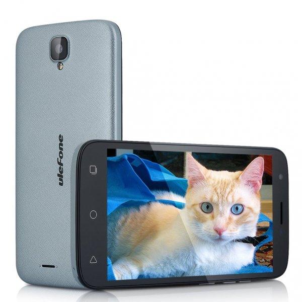 """Smartfon Ulefone U007 8GB 5"""" (szary) POLSKA DYSTRYBUCJA +Etui"""