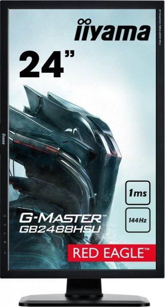 """IIYAMA G-MASTER RED EAGLE GB2488HSU-B2 24"""" 1ms 144Hz FreeSync"""