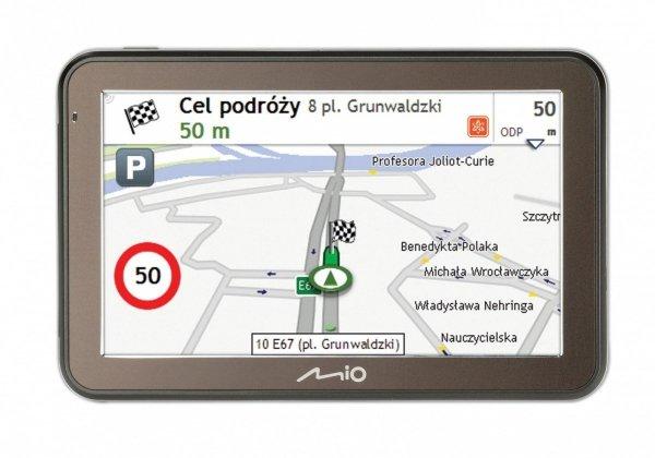 MIO Spirit 7500PL Nawigacja samochodowa Mapy Polska (dożywotnia aktualizacja)
