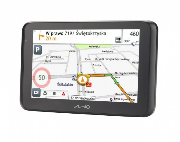 MIO MiVue Drive 55 Mapy Europa Nawigacja samochodowa + wideorejestrator
