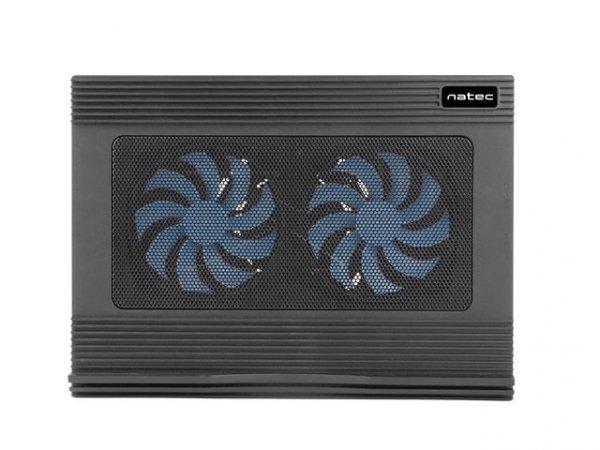 Natec Heron Black Podstawka chłodząca do laptopa
