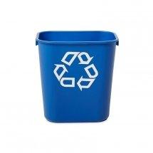 Elastyczny kosz na śmieci i akcesoria 12,9l blue