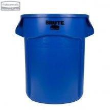 Kontener okrągły z kanałami BRUTE® 75,7L Blue