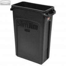 Kosz Slim Jim® With Venting 87L Black