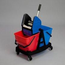 Wózek do sprzątania 2x18L Sani Duo