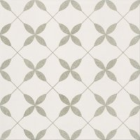 Patchwork Clover Grey Pattern 29,8x29,8