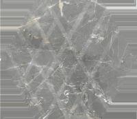 Paradyż Marvelstone Light Grey Heksagon 19,8x17,1