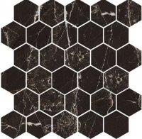 Magic Black Mozaika Heksagon 27x27