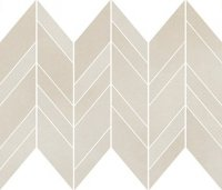 Safari Cream Chevron Mix Mosaic Matt 25,5x29,8