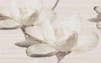 Marisol Beige Inserto Flower 25x40