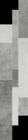 Scratch Grys Listwa Mix Paski 14,3x71